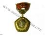 Памятная медаль - 50 лет Образования СССР - аверс с колодкой