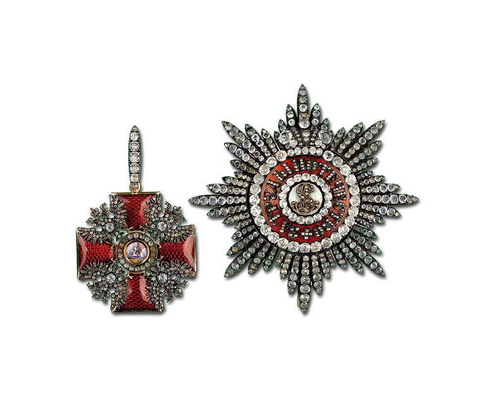 Орден Александра Невского. Некоторые варианты во времена Российской Империи