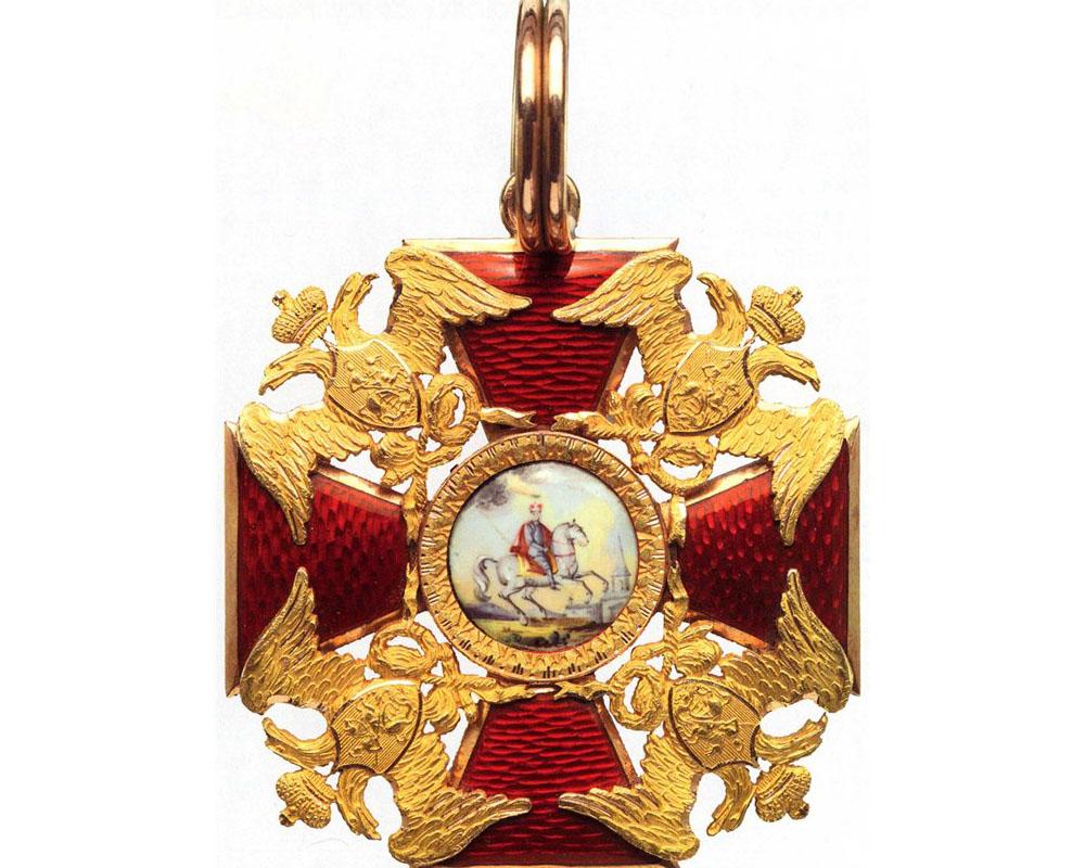 Орден Александра Невского. Первоначальный вариант