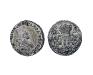 Гривенник 1741 года Иоанна Анатольевича - аверс и реверс, серебро
