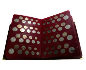 Погодовой выпуск монет 1961-1991 года чеканки