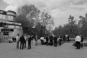 Нумизматический базар в старом добром Ленинграде
