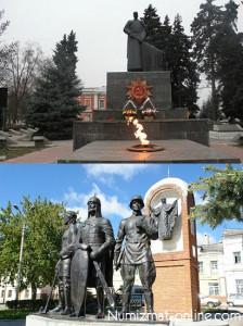 Памятники г. Елец