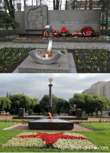 Памятники г. Колпино