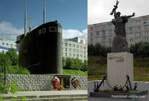 Памятники г. Полярный