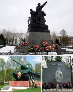 Памятники г. Вязьма