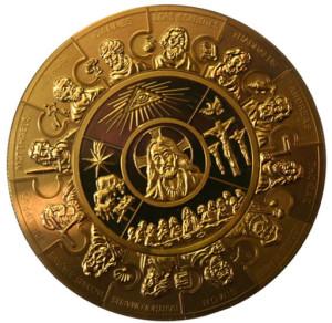 Красивая монета: 12 апостолов