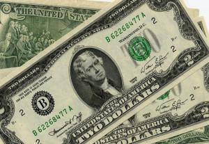 Два доллара США 1976 года выпуска