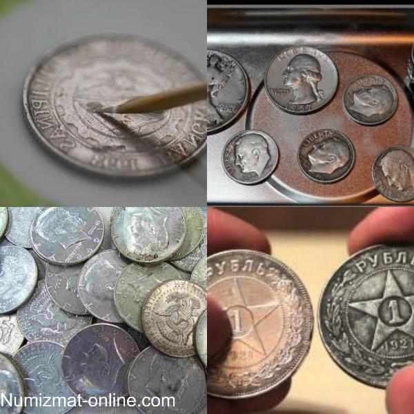 Чистка старинных монет продать монету 1 рубль