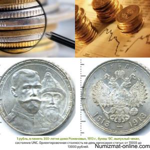Градация и оценка сохранности монет