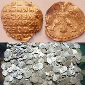 Монеты допетровской эпохи