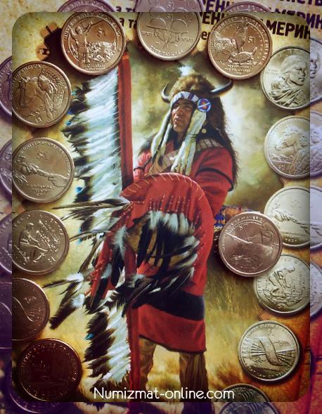 Доллар сакагавеи coins usa