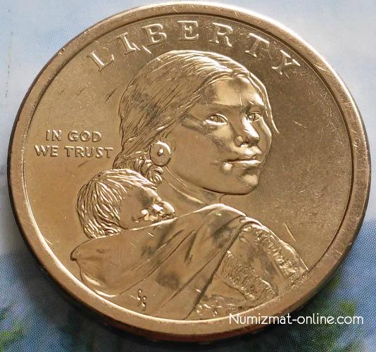 Монета сша 1 доллар 2000 сакгавели купить юбилейные монеты россии в москве