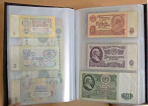 Альбом с купюрами поможет сохранить банкноты