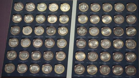 Юбилейные биметаллические монеты россии монеты 1985 года цена
