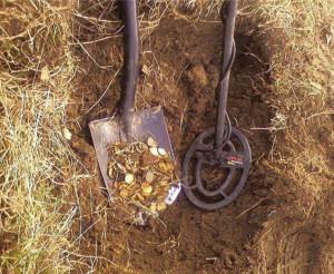 Что можно найти металлоискателем?