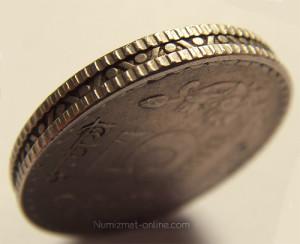 Гурт монеты достоинством 5 рублей