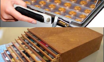 Хранение и консервация монет