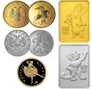 Инвестиционные монеты России