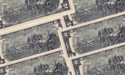 Купюра 2 доллара 1976 года. История, цена, мифы
