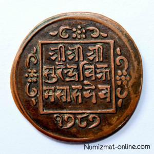 Древняя монета