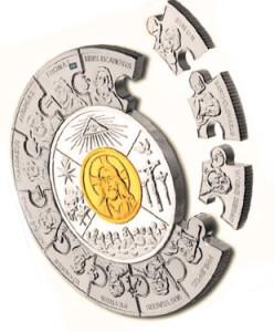 "Монета-пазл ""12 апостолов"""