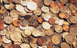 Монеты из разных металлов