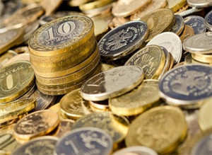 Обмен монетами между нумизматами