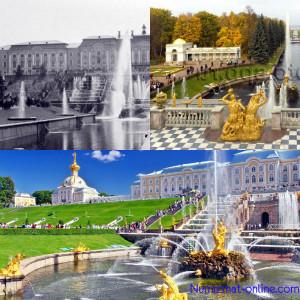 Большой дворец в Петродворце