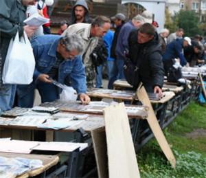 Рынок нумизматов в Москве