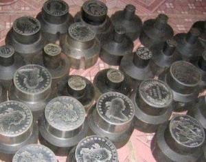 Штампы для изготовления фальшивых монет