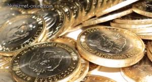 Тираж юбилейных монет России