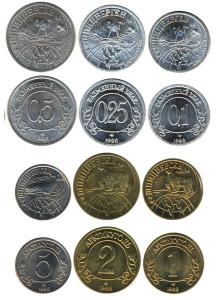 Коллекция монет Шпицбергена, выпуск 1998 год