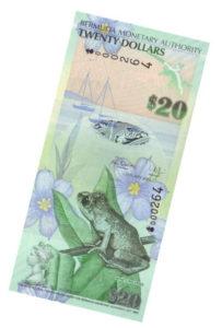 Монета 20 $ 2009 Бермуды