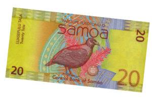 Монета 20 тала Самоа