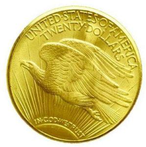Монета двойной орел