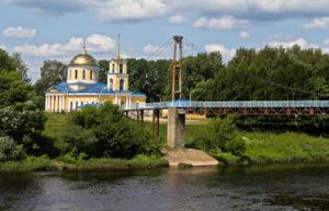 Вид города Зубцова