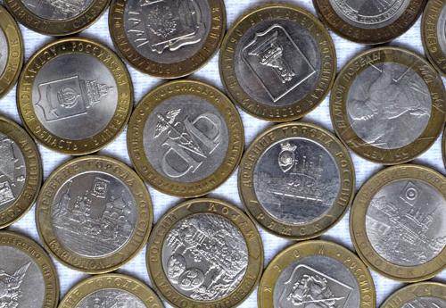Юбилейные монеты России из не драгоценных металлов: каталог, стоимость