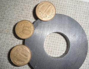 Магнитные монеты