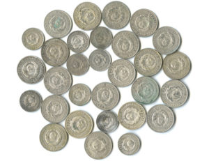 Набор монет СССР регулярного чекана 1925 года