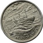 Мурманск - монета серии Города-герои
