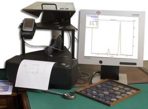 Специализированное оборудование для экспертизы монет