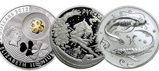 Наборы серебряных монет сбербанка рубль пушкин 1999