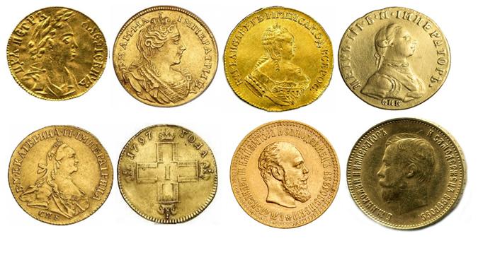 Золотой червонец: история, разновидности, цена