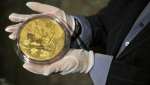 Эксклюзивные золотые монеты Сбербанка