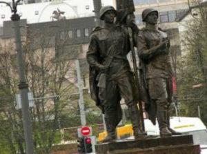 Памятник воинам-освободителям в Вильнюсе