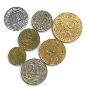 Монеты регулярного чекана 1949 года