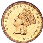 Золотой доллар США