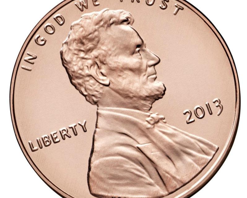 1 цент США: монеты с Линкольном