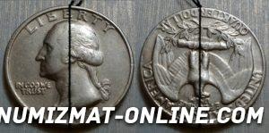 Монета-перевертыш Либерти